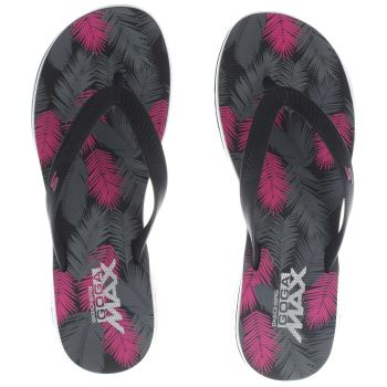 SKECHERS BLACK & PINK H2 GOGA LAGOON SANDALS