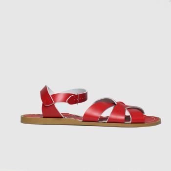 Salt-water Red The Original Womens Sandals