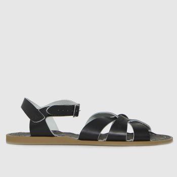 Salt-Water Black The Original Womens Sandals