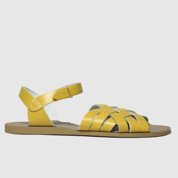 Salt-Water Yellow The Retro Womens Sandals