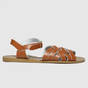 Salt-water Tan The Retro c2namevalue::Womens Sandals