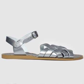 Salt-water Silver The Retro Womens Sandals