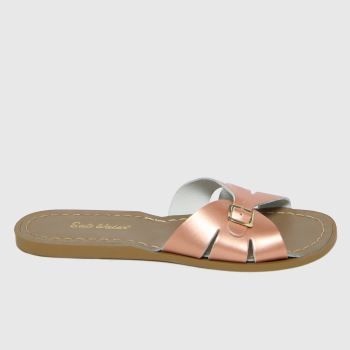 Salt-Water Gold Slide Womens Sandals