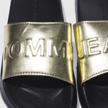Tommy Hilfiger tj metallic pool slide 1