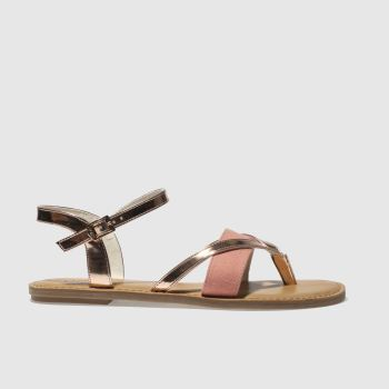 Toms Gold Lexie Womens Sandals