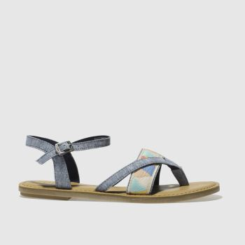 Toms Blue Lexie Womens Sandals