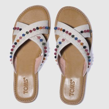 Toms Natural Viv Womens Sandals