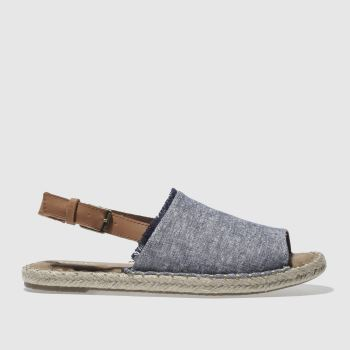 Toms Navy Clara Womens Sandals