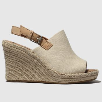 TOMS NATURAL MONICA SANDALS
