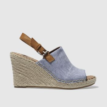 TOMS BLUE MONICA SANDALS