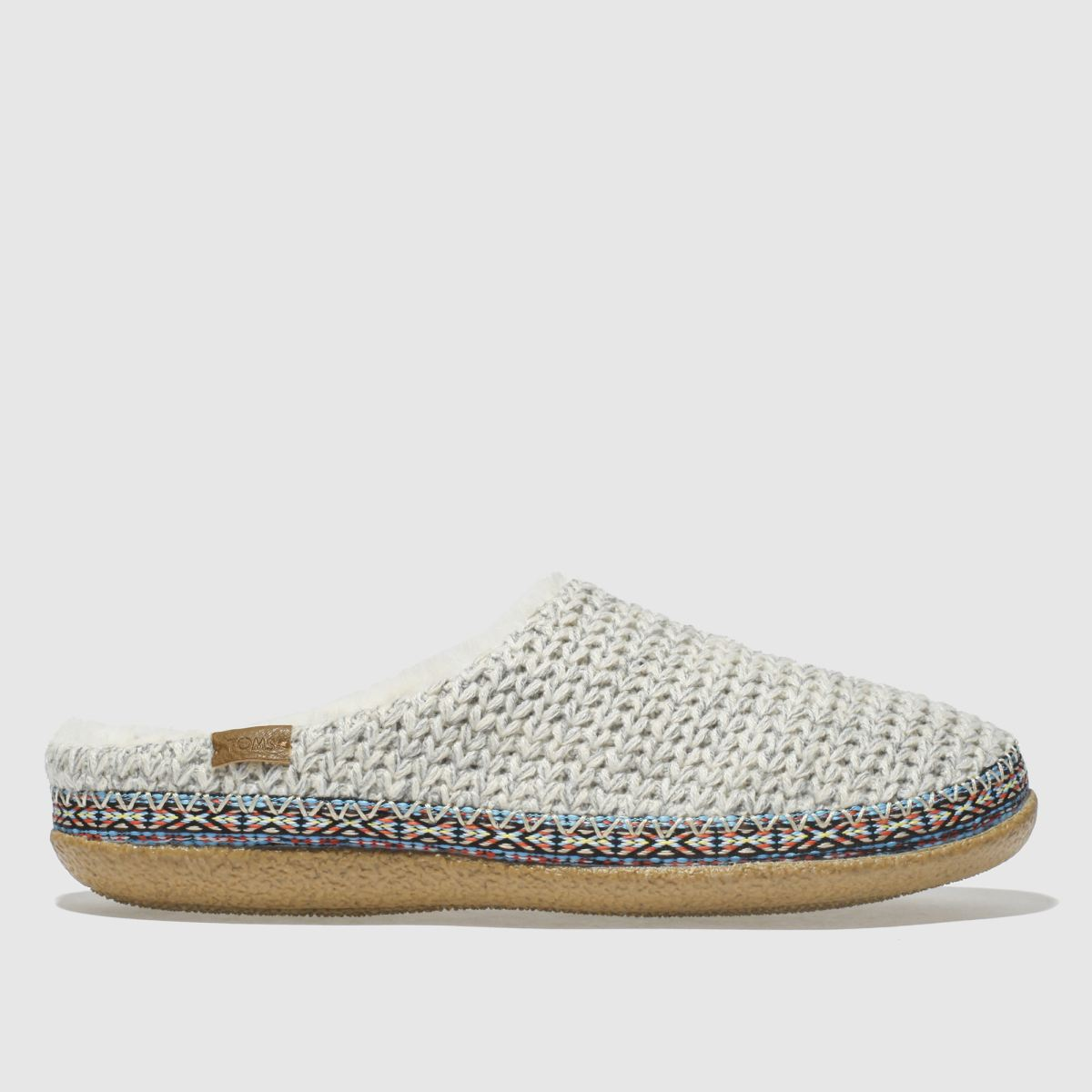 Toms Natural Ivy Slippers