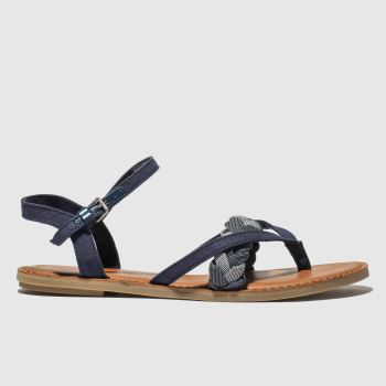 Toms Navy Lexie Vegan Womens Sandals