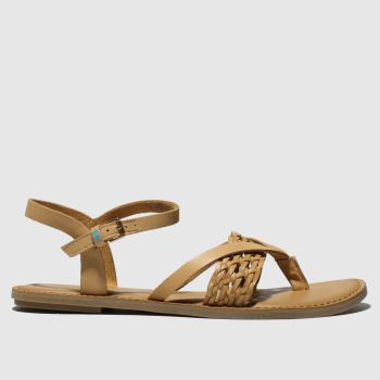 Toms Tan Lexie Womens Sandals