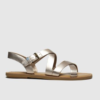 Toms Bronze Sicily Womens Sandals
