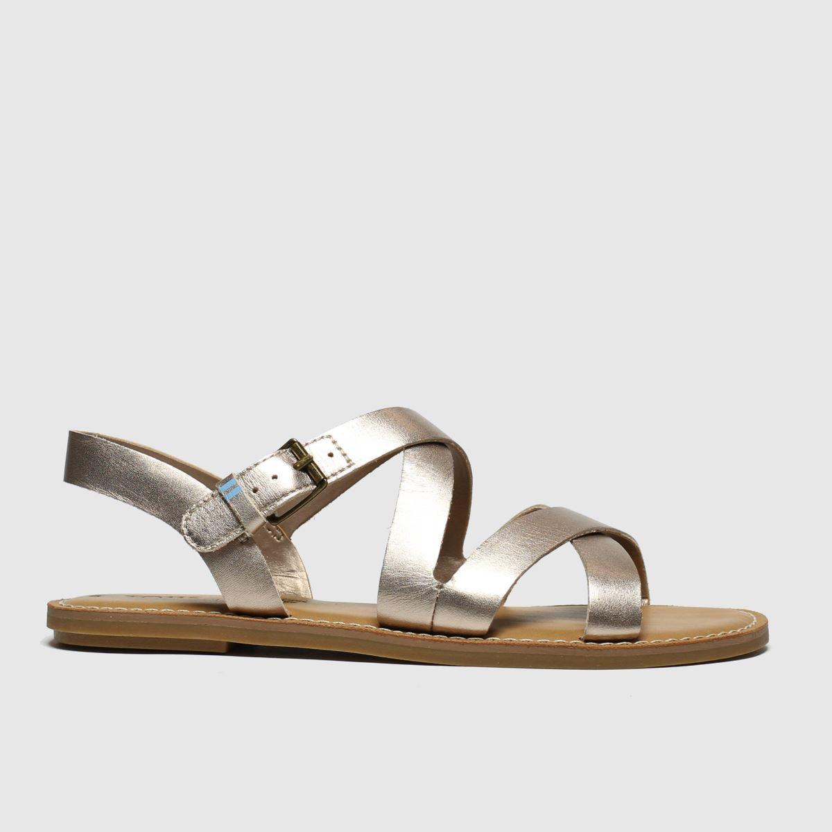 Toms Bronze Sicily Sandals