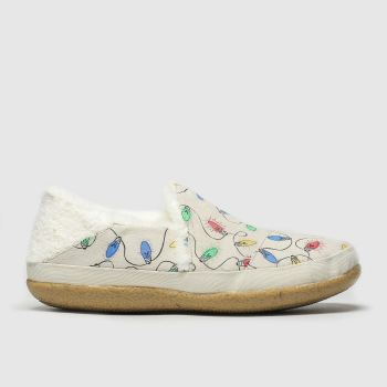 Toms Natural India Womens Slippers