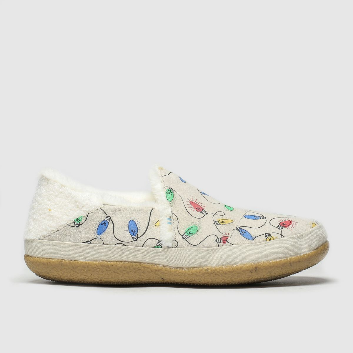 Toms Natural India Slippers