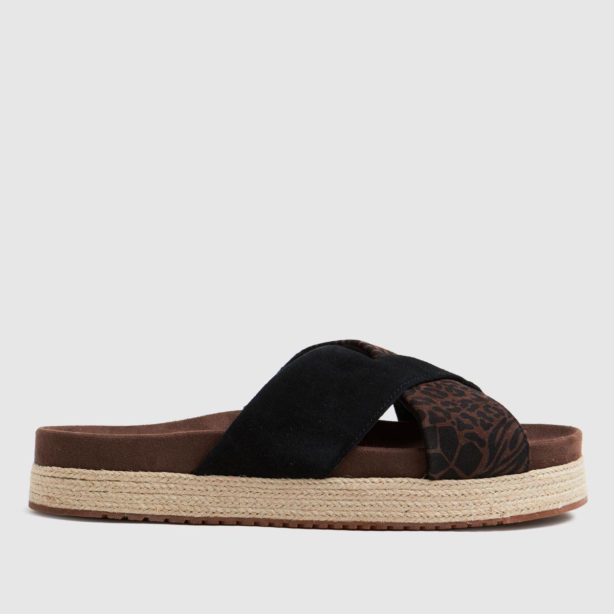 TOMS Black Paloma Sandals