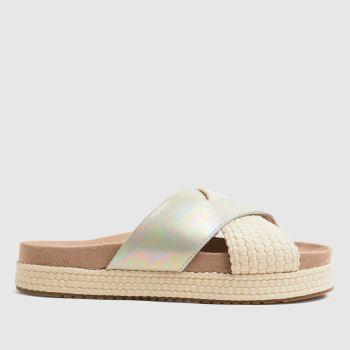 TOMS Silver Paloma Womens Sandals