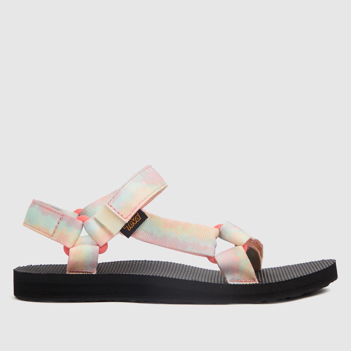Teva Black & Pink Original Universal Sandals