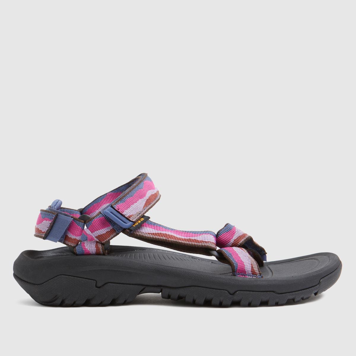 Teva Black & Pink Hurricane Xlt2 Sandals