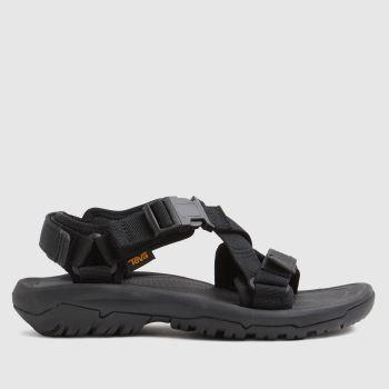 Teva Black Performance Hurricane Womens Sandals