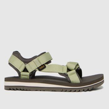 Teva Green & Stone Universal Trail Womens Sandals