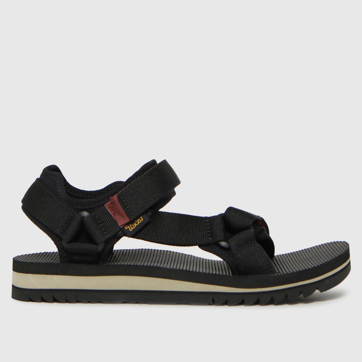Teva Black Universal Trail Sandals