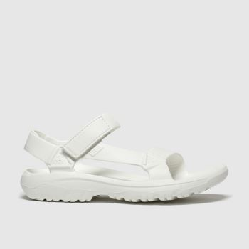 Teva White Hurricane Drift c2namevalue::Womens Sandals