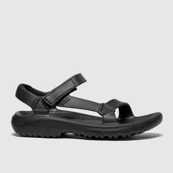 TeVa Black Hurricane Drift Womens Sandals