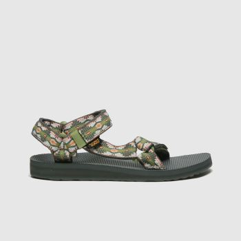 Teva Green Original Universal Womens Sandals