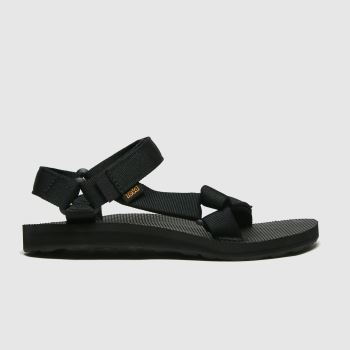Teva Black Original Universal Womens Sandals