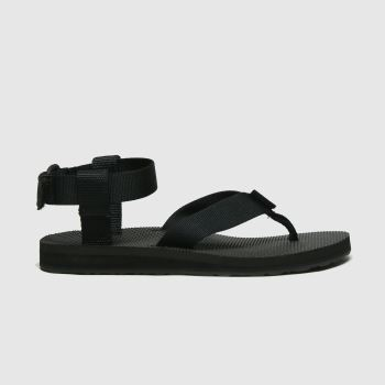 TeVa Black Original Sandal Womens Sandals