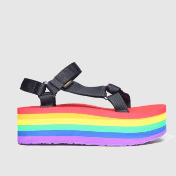 Teva Multi Pride Flatform Universal c2namevalue::Womens Sandals