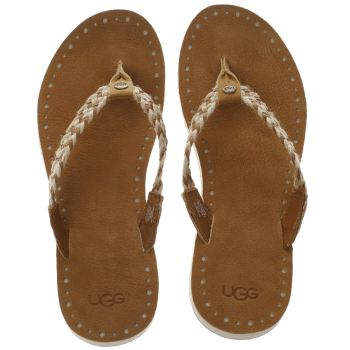 UGG TAN NAVIE SANDALS