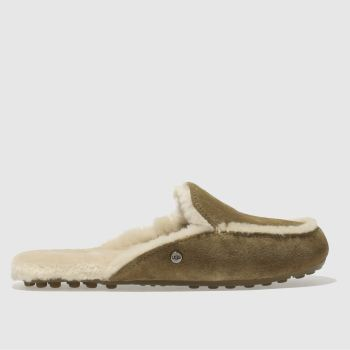 UGG TAN LANE SLIPPERS