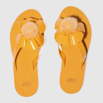Ugg Orange Poppy Womens Sandals
