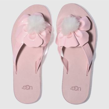 Ugg Pale Pink Poppy Womens Sandals