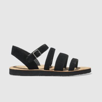 Ugg Black Alyse Womens Sandals