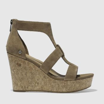 Ugg Tan WHITNEY Sandals