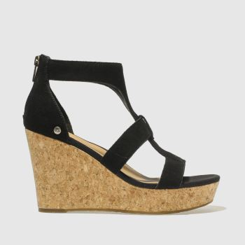 Ugg Black Whitney Womens Sandals