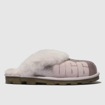 Ugg Pale Pink Coquette Sparkle Womens Slippers