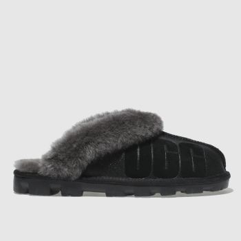 Ugg Black Coquette Sparkle Womens Slippers