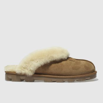 Ugg Tan Coquette Womens Slippers