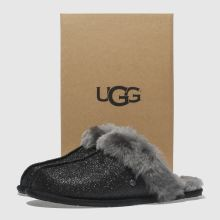 6c29fb09cabe womens black ugg scuffette ii sparkle slippers | schuh