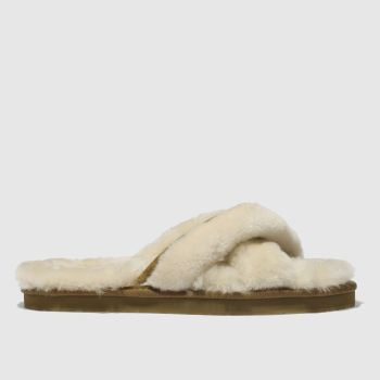 Ugg Natural Abela Womens Slippers