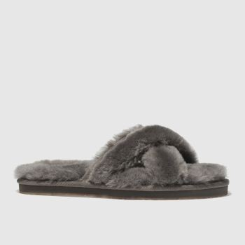 Ugg Grey Abela Womens Slippers