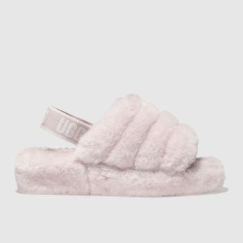 fbdd5bd4adb womens pale pink ugg fluff yeah slide sandals | schuh