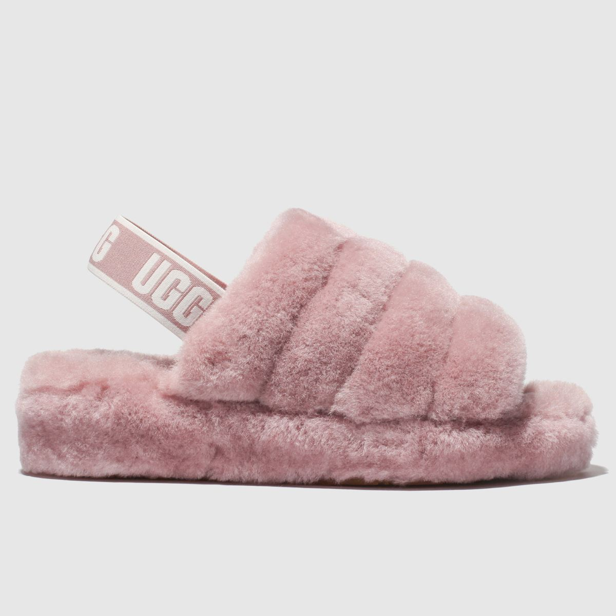 Ugg Pink Fluff Yeah Slide Sandals