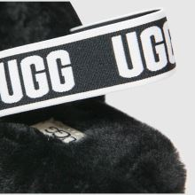 171937ae3df ugg black fluff yeah slide sandals